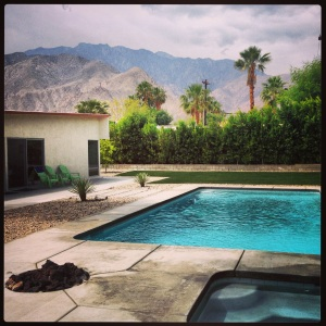 Our house in Palm Springs