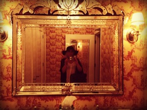 Chateau Marmont... even the restroom is pretty.