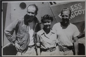 The Three Survivors: Decker, Hastings and McCollom. (Photograph from C. Earl Walter Jr. and B.B. McCollom)