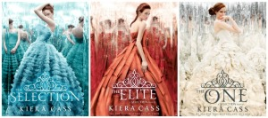 The Selection, The Elite, the One, by Kiera Cass