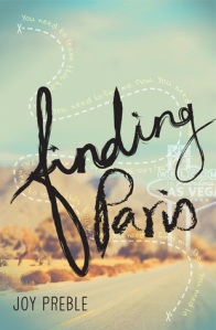 Finding Paris, By Joy Preble