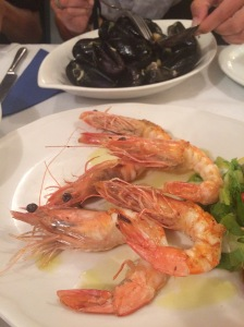 Fresh Seafood at Ammoudi