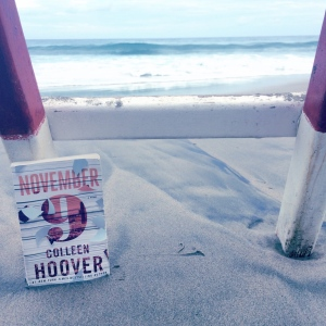November 9, by Colleen Hoover. Photo by Kelly Furgal Toye(Click here for my instagram account!)